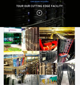 Data Center Tour Page