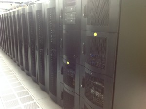 Colocation Racks at a hivelocity colocation facility.