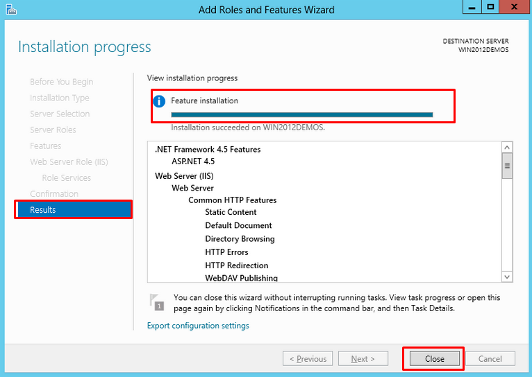 How to install IIS 8 on Windows Server 2012 | Knowledge Base