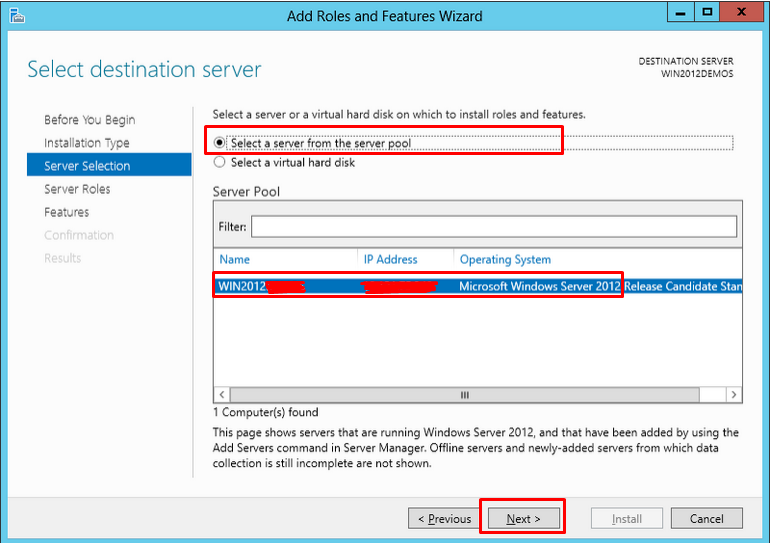 how to open iis manager in windows server 2012