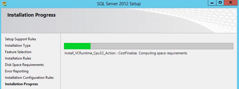 SQL Server Management Studio Installation Process