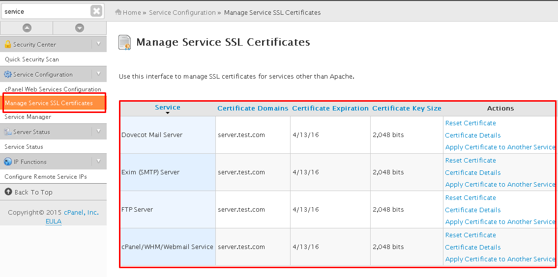 How To Install A Ca Issued Ssl Non Self Signed For Cpanel Services